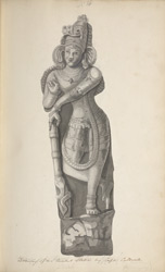 Drawing of an Ancient Sculpture by Capt. Caldwell. Copd by John Newman 7th February 1804